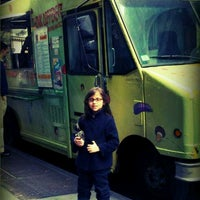 Photo taken at Comme Ci Comme Ça - Chef Samir Truck by Monica S. on 4/12/2012