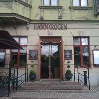 Photo taken at Hamnkrogen Liseberg by Pontus B. on 8/10/2012