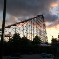Photo taken at Worlds of Fun by Leonard L. on 9/8/2012