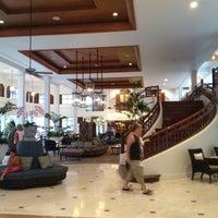 Photo taken at Centara Grand Beach Resort & Villas Hua Hin by Kittiwat K. on 7/6/2012