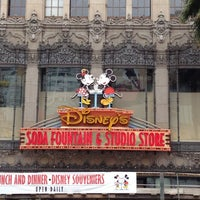 Photo taken at Disney's Soda Fountain & Studio Store by Dan K. on 3/31/2012