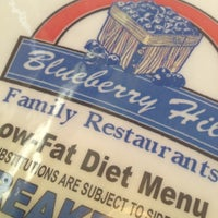 Photo taken at Blueberry Hill Family Restaurant by Jason H. on 7/26/2012