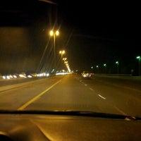 Photo taken at طريق الملك فهد by Noor A. on 4/26/2012