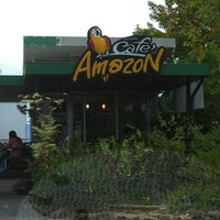 Photo taken at Cafe' Amazon by salakjit n. on 8/17/2012