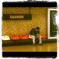 Photo taken at Metro Salvador by Pablo M. on 8/27/2012