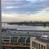 Photo taken at San Diego Marriott Gaslamp Quarter by Joe F. on 2/16/2012