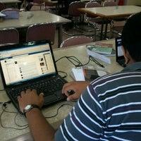 Photo taken at Fakultas Bisnis Telekomunikasi dan Media by Gabrielle P. on 2/9/2012