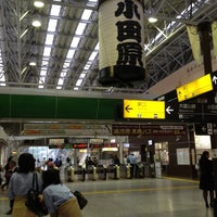 Photo taken at Odawara Station by Junya A. on 6/16/2012