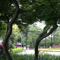 Photo taken at Daan Forest Park by Birgit L. on 6/3/2012