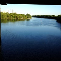 Photo taken at Lady Bird Lake Under Mopac Bridge by Hooman on 4/23/2012