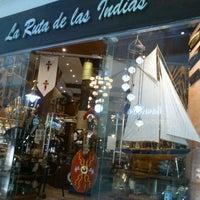 Photo taken at La Ruta de las Indias by Angel Juser A. on 5/29/2012