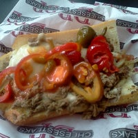 Photo taken at DP Cheesesteaks by Usman M. on 2/21/2012