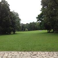 Photo taken at Parc de la Monniais by Vince on 7/13/2012