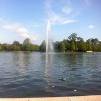 Photo taken at Hermann Fountain by Leonard T. on 5/20/2012