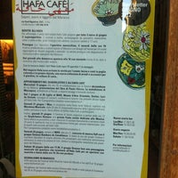 Photo taken at Hafa Cafè by Andrea G. on 6/22/2012