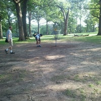 Photo taken at The Oaks Disc Golf Course by Andrew Z. on 8/18/2012