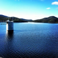 Photo taken at Hinze Dam by Nick H. on 3/31/2012