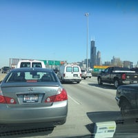 Photo taken at Dan Ryan Expressway by LeeShawn J. on 4/12/2012