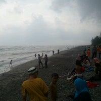 Photo taken at Pantai Pandan Wangi by M. Aulia R. on 8/22/2012