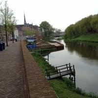 Photo taken at Wilhelminabrug over de Dommel by Hoedie1970 on 5/1/2012