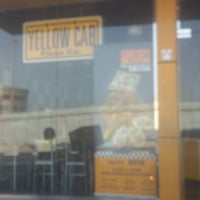 Photo taken at Yellow Cab Pizza by Mohamed A. on 5/4/2012