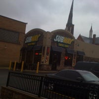 Photo taken at Subway by Bryce G. on 3/8/2012