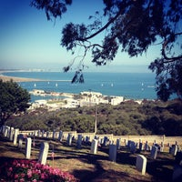 Photo taken at Fort Rosecrans National Cemetery by Rose C. on 5/28/2012