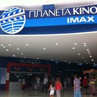 Photo taken at Планета Кіно IMAX by Николай К. on 7/15/2012