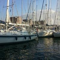 Photo taken at Jachthaven Scheveningen by Helene on 8/11/2012