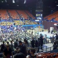 Photo taken at Coliseo Ruben Rodriguez by Juan R. P. on 7/14/2012