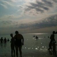 Photo taken at Plaja Midnight Sun by Luana D. on 7/18/2012