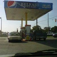 Photo taken at Belfast Quik Mart by Renata T. on 9/4/2012