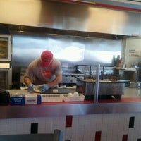 Photo taken at MOOYAH Burgers, Fries & Shakes by Jessica P. on 6/13/2012