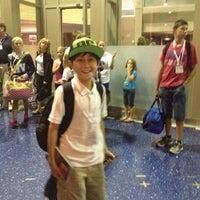 Photo taken at Gate 6 by Banu on 9/4/2012