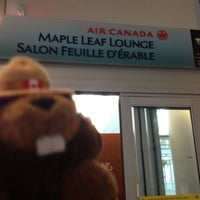 Photo taken at Maple Leaf Lounge (International) by Nanna N. on 4/1/2012