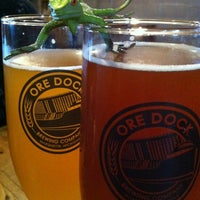 Photo taken at Ore Dock Brewing Company by Dawn J. on 6/3/2012