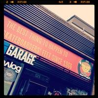 Photo taken at Garage Skateshop by Larry T. on 4/11/2012