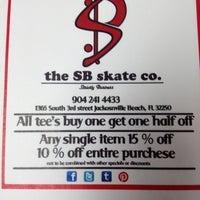 Photo taken at the SB skate co. by Merritt F. on 5/25/2012
