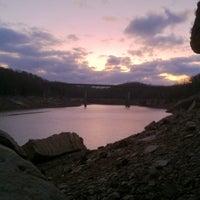 Photo taken at Summersville Dam by Elliot G. on 2/26/2012