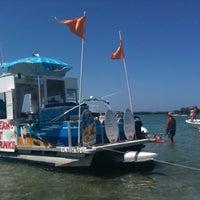 Photo taken at Ice Cream Boat Sebastian by Sandy F. on 9/1/2012
