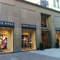 Photo taken at Hugo Boss Store by Maxi H. on 5/24/2012