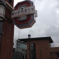 Photo taken at Buckeye Hall of Fame Grill by Annie L. on 3/4/2012