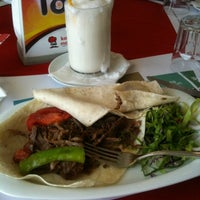 Photo taken at Konak Mazlum Restaurant by Cem Y. on 4/25/2012