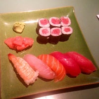 Photo taken at Sushi Inaka by Adrian M. on 4/1/2012