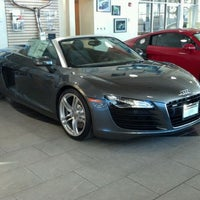 Photo taken at Schaumburg Audi by Paul M. on 2/11/2012