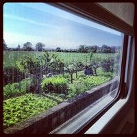 Photo taken at Stazione Borgolombardo by Giorgia S. on 5/16/2012