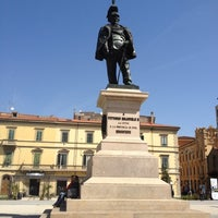 Photo taken at Piazza Vittorio Emanuele II by J M. on 4/27/2012