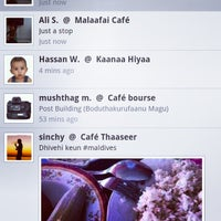 Photo taken at Malaafai Café by Ali S. on 4/19/2012