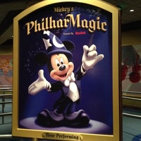 Photo taken at Mickey's PhilharMagic by Kimberly P. on 2/12/2012