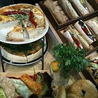 Photo taken at Green Caffè Nero by Konrad T. on 6/18/2012